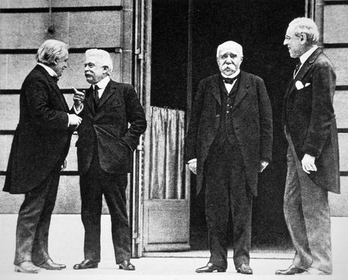 Council of Four at Treaty of Versailles, 1919