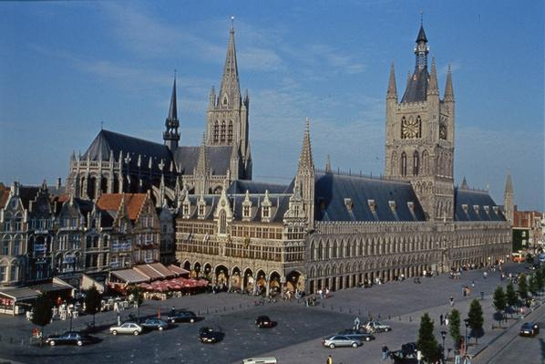 The Cloth Hall at Ypres, Belgium