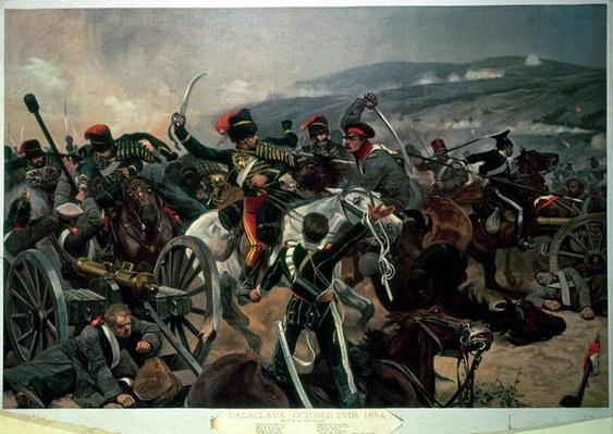 Battle of Balaclava, 25th October 1854, Relief of the Light Brigade
