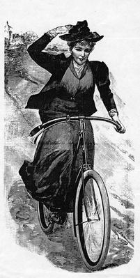 Bicycling Downhill