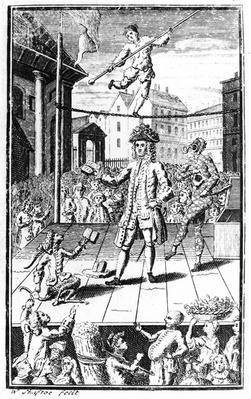 Satire of Dr Rock, c.1740