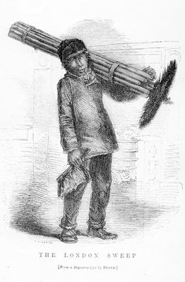 The London Sweep, from the daguerreotype by Richard Beard, illustration from 'London Labour and London Poor' by Henry Mayhew, pub. 1862