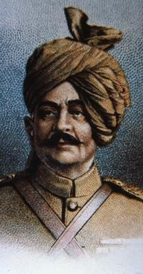 Maharajah Sir Pertab Singh, Colonel of the Jodhpur Lancers