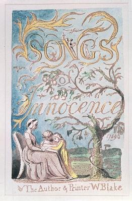 Songs of Innocence; Title Page, 1789
