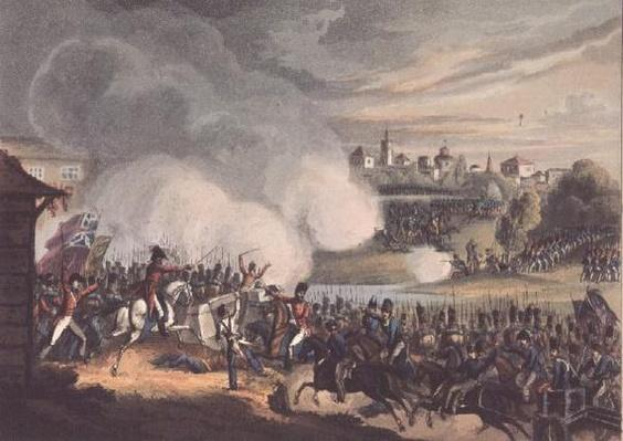 Battle of Seville, 27th August 1812, Thomas Sutherland