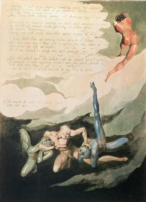 Europe a Prophecy 'Unwilling I look up', 1794