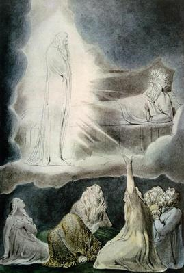 The Vision of Eliphaz, 1825
