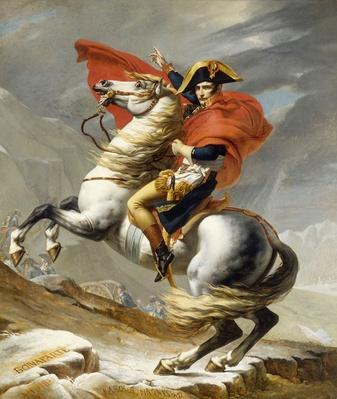 Napoleon Crossing the Grand Saint-Bernard Pass, 20 May 1800, 1802
