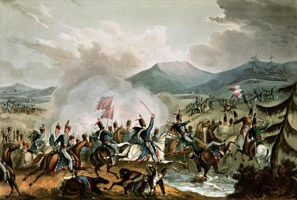 Battle of Morales, 2nd June, 1813: engraved by Thomas Sutherland