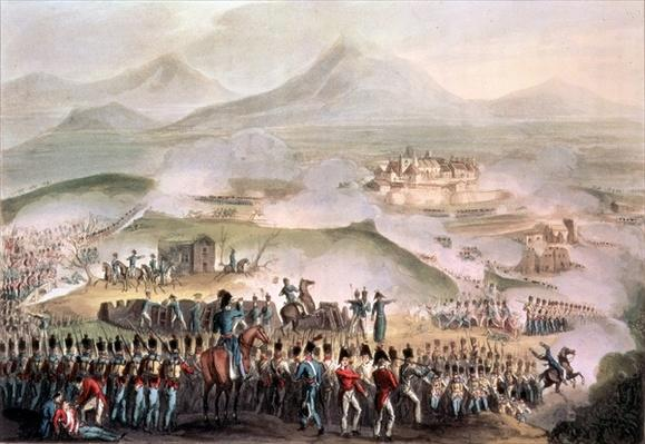 Battle of Toulouse, April 10th, 1814, engraved by Thomas Sutherland