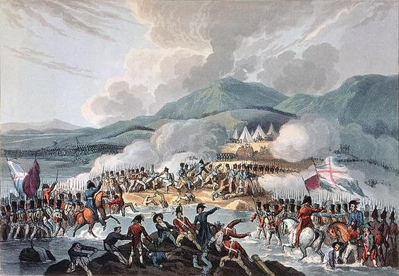 Battle of the Bidassoa, 9th October, 1813: engraved by Daniel Havell