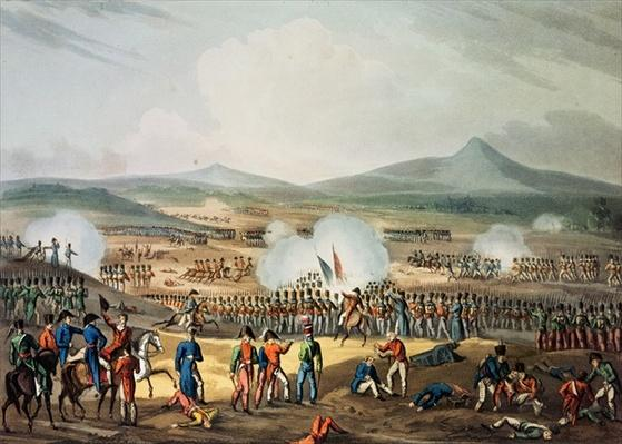 Battle of Fuentes D'Onoro, May 5th, 1811, engraved by Thomas Sutherland