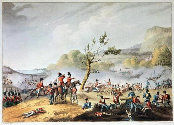 Battle of Maida, July 4th, 1806, engraved by Thomas Sutherland