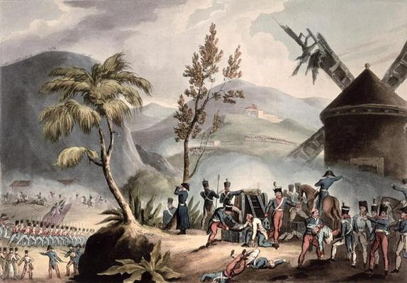 Battle of Roleia, August 17th, 1808, engraved by Thomas Sutherland
