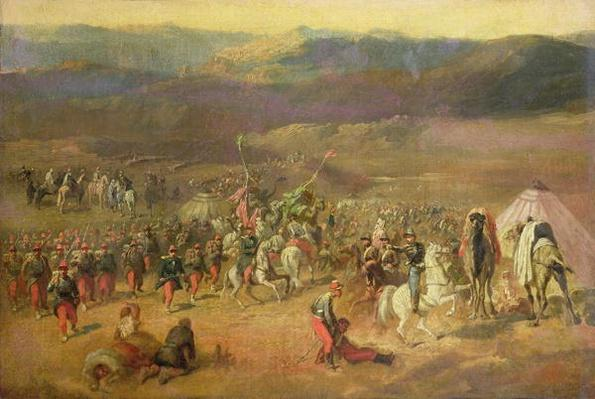The Capture of the Retinue of Abd-el-Kader