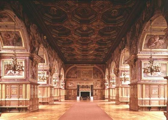 The Ballroom, or Gallery of Henri II