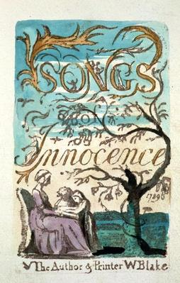 Songs of Innocence, title page