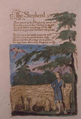 The Shepherd, from Songs of Innocence, 1789