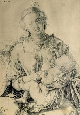 Virgin Mary suckling the Christ Child, 1512
