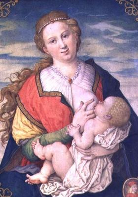 Virgin and Child, 1600 after a drawing by Albrecht Durer