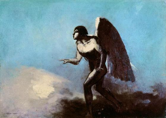 The Winged Man or, Fallen Angel, before 1880