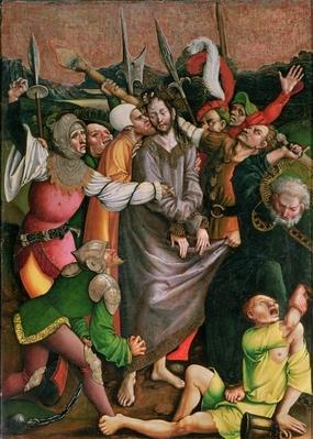 Christ arrested in the Garden of Gethsemane