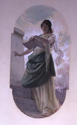 The Epigram, a study, 1890