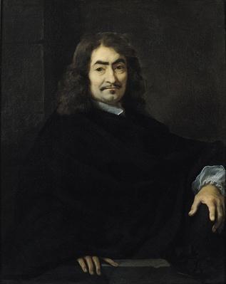 Portrait, presumed to be Rene Descartes