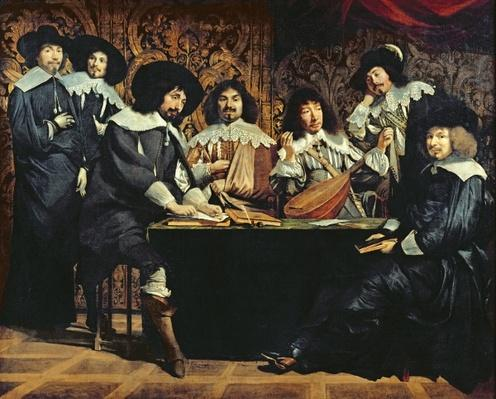 The Academy, or The Amateurs' Meeting, c.1640
