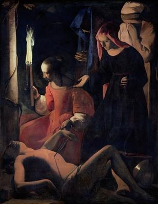 St. Sebastian Tended by St. Irene