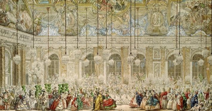 The Masked Ball at the Galerie des Glaces, 17th February 1745