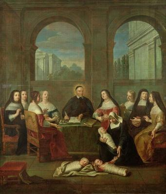 St. Vincent de Paul and the Sisters of Charity, c.1729
