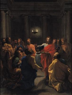 Christ Instituting the Eucharist, or The Last Supper, 1640