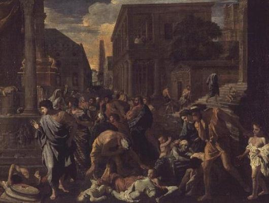 The Plague of Ashdod, or The Philistines Struck by the Plague, 1630-31