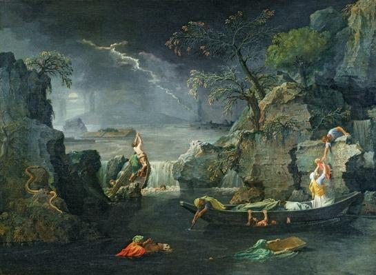 Winter, or The Flood, 1660-64