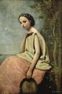 Zingara with a Tambourine