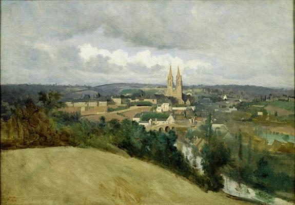 General View of the Town of Saint-Lo, c.1833