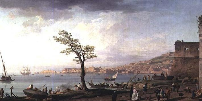 View of the Bay of Naples, 1748
