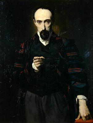 Portrait of Achille Deveria