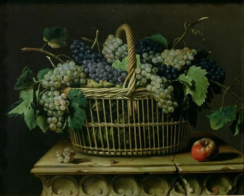 A Basket of Grapes