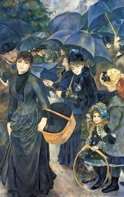 The Umbrellas, c.1881-6