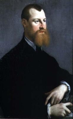 Portrait of a man with a ginger beard, 16th century