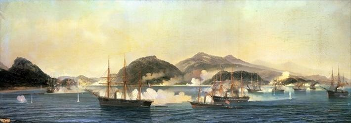 The Second Battle of Shimonoseki, 5th September 1864, 1868