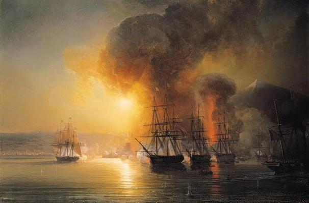 Capture of the Fort of Saint-Jean-d'Ulloa on 23rd November 1838, 1839