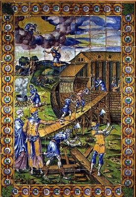 The Story of Noah: the Building of the Ark, Rouen