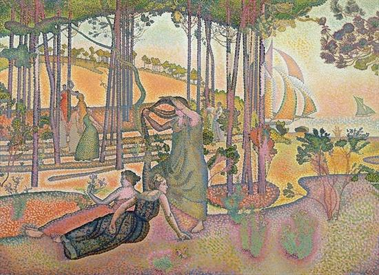 The Evening Air, 1893-4 by Cross, Henri-Edmond (1856-1910)