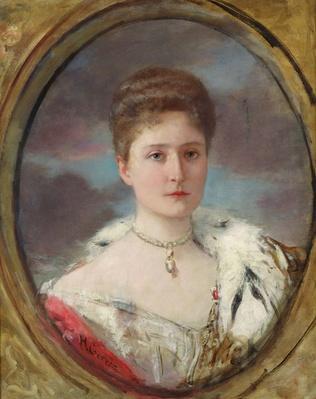 Portrait of Tsarina Alexandra