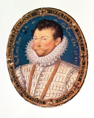Sir Francis Drake, 1581