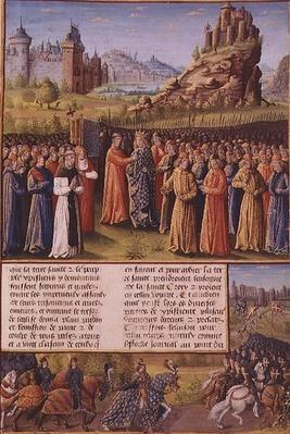 Ms Fr 5594 f.138 Saint Bernard
