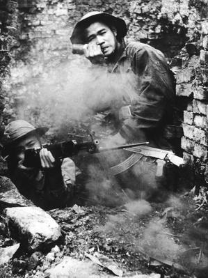 Viet Cong In Battle | Vietnam War